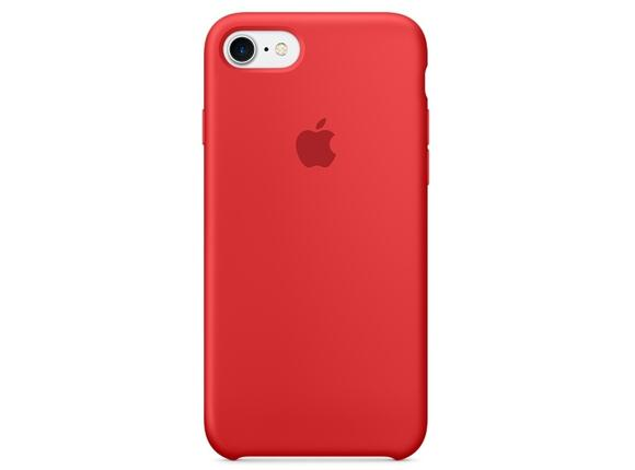 Калъф Apple iPhone 7 Silicone Case - (PRODUCT)RED
