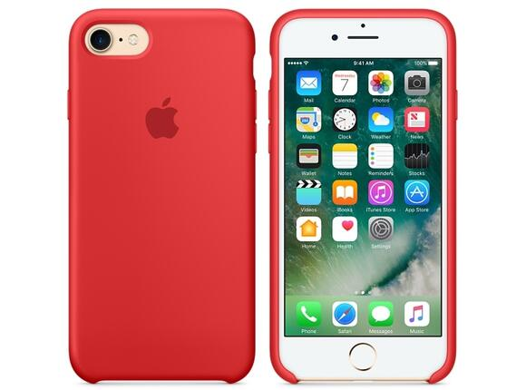 Калъф Apple iPhone 7 Silicone Case - (PRODUCT)RED - 5