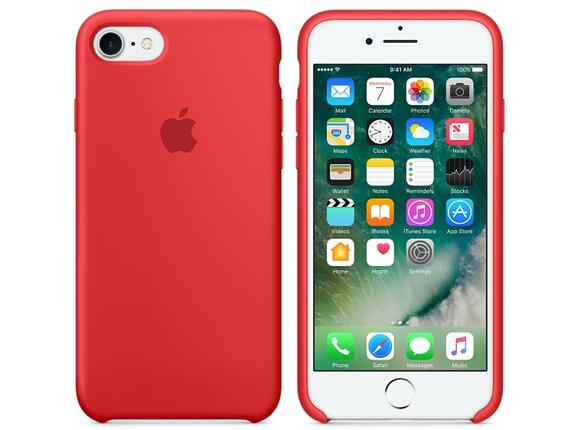 Калъф Apple iPhone 7 Silicone Case - (PRODUCT)RED - 4