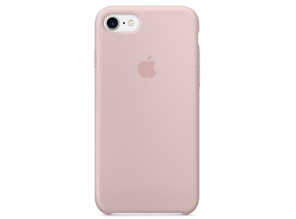 Калъф Apple iPhone 7 Silicone Case - Pink Sand
