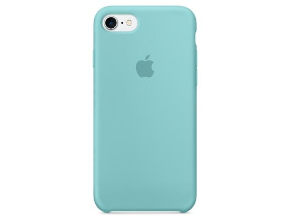 Калъф Apple iPhone 7 Silicone Case - Sea Blue