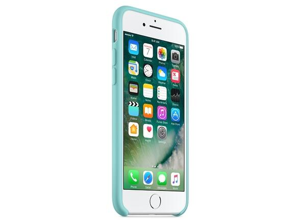 Калъф Apple iPhone 7 Silicone Case - Sea Blue - 7