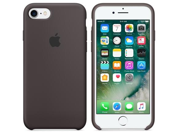 Калъф Apple iPhone 7 Silicone Case - Cocoa - 4