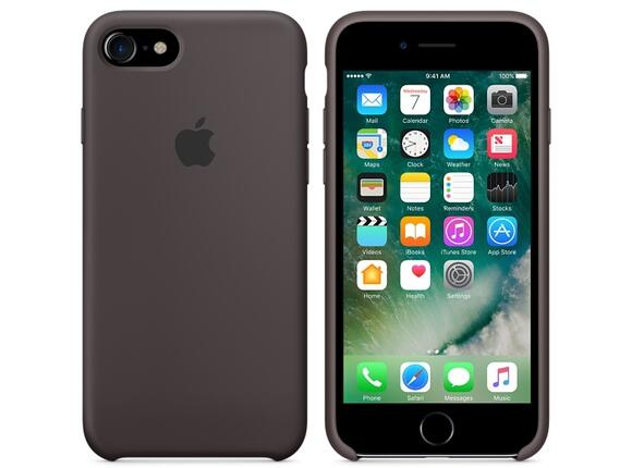 Калъф Apple iPhone 7 Silicone Case - Cocoa - 2