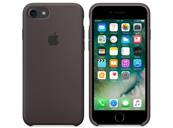 Калъф Apple iPhone 7 Silicone Case - Cocoa - 3