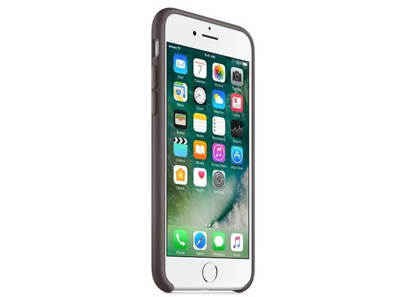 Калъф Apple iPhone 7 Silicone Case - Cocoa - 7