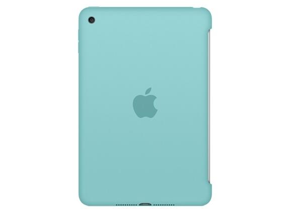 Калъф Apple iPad mini 4 Silicone Case - Sea Blue