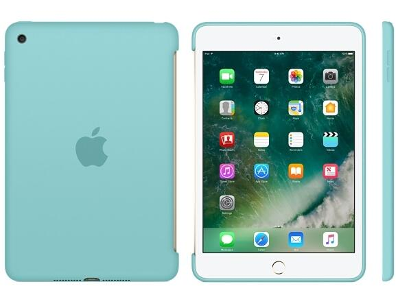 Калъф Apple iPad mini 4 Silicone Case - Sea Blue - 2