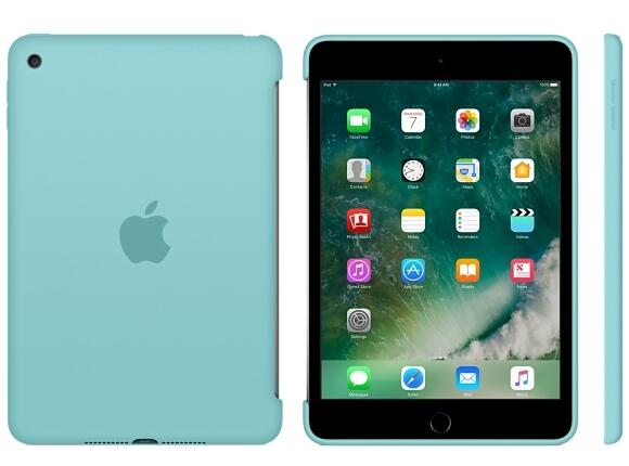 Калъф Apple iPad mini 4 Silicone Case - Sea Blue - 4