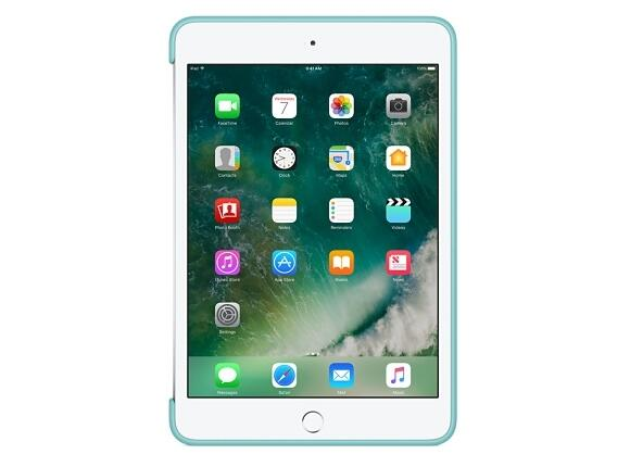 Калъф Apple iPad mini 4 Silicone Case - Sea Blue - 7