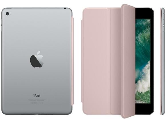 Калъф Apple iPad mini 4 Smart Cover - Pink Sand - 4