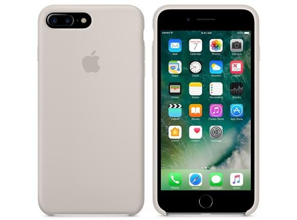 Калъф Apple iPhone 7 Plus Silicone Case - Stone - 2