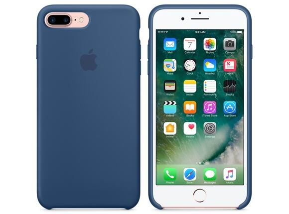 Калъф Apple iPhone 7 Plus Silicone Case - Ocean Blue - 6