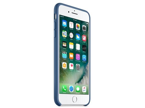 Калъф Apple iPhone 7 Plus Silicone Case - Ocean Blue - 7