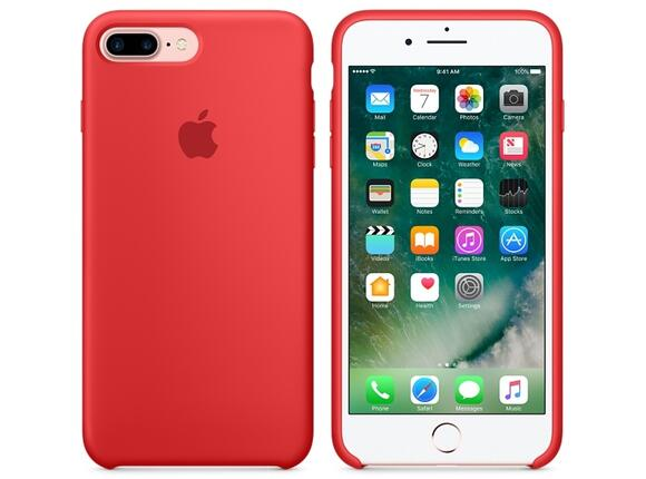 Калъф Apple iPhone 7 Plus Silicone Case - PRODUCT(RED) - 6