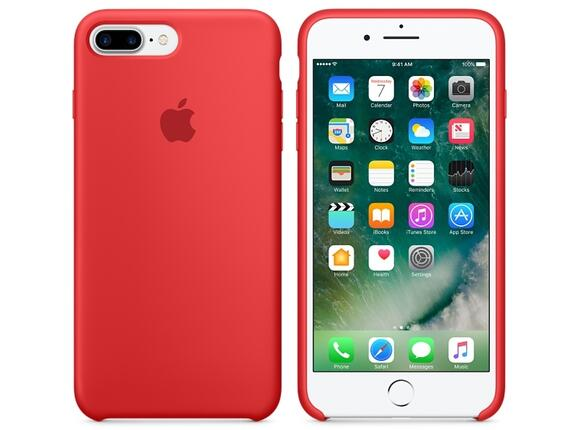 Калъф Apple iPhone 7 Plus Silicone Case - PRODUCT(RED) - 4