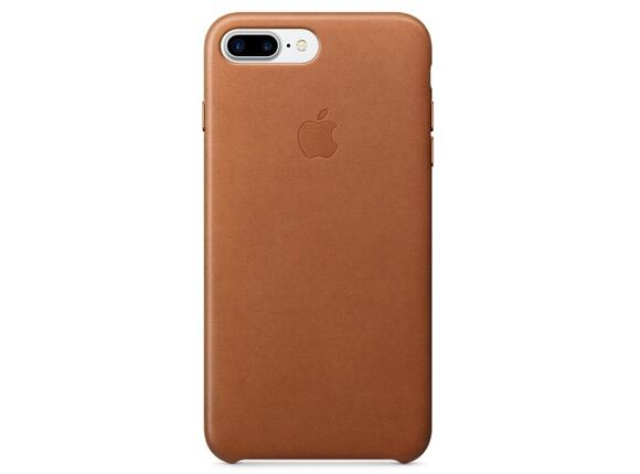 Калъф Apple iPhone 7 Plus Leather Case - Saddle Brown