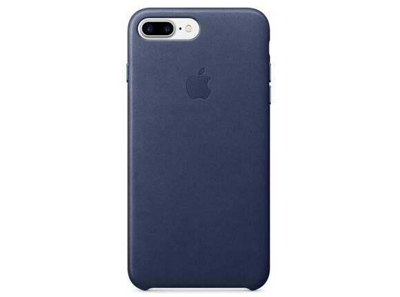 Калъф Apple iPhone 7 Plus Leather Case - Midnight Blue