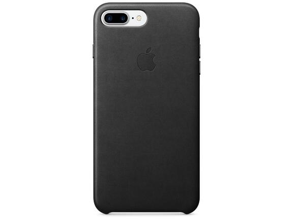 Калъф Apple iPhone 7 Plus Leather Case - Black