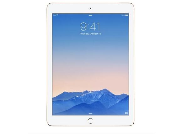Таблет Apple iPad Air 2 Wi-Fi 128GB - Gold - 3
