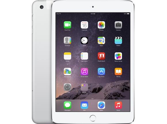 Таблет Apple iPad Air 2 Cellular 128GB - Silver - 4