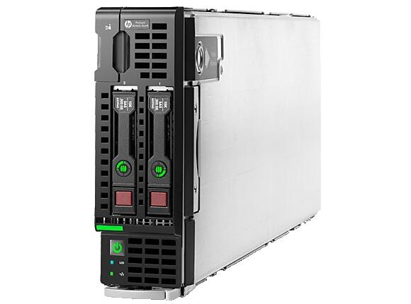 Сървър HP ProLiant BL460c Gen9 E5-2620v3 1P 16GB-R H244br Entry Server