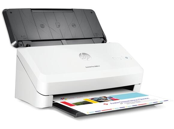 Скенер HP ScanJet Pro 2000 S1 Sheetfeed Scanner - 2