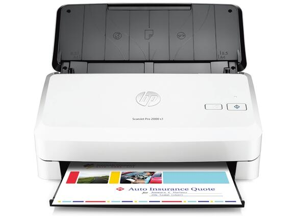 Скенер HP ScanJet Pro 2000 S1 Sheetfeed Scanner