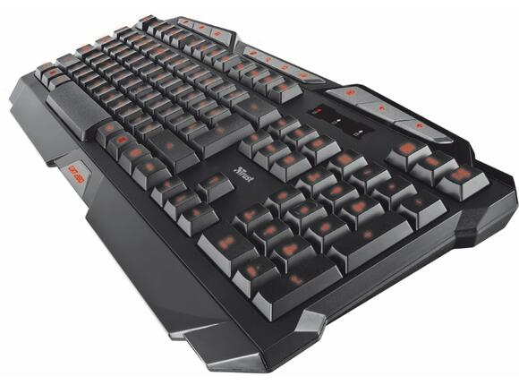 Клавиатура TRUST GXT 280 LED Illuminated Gaming Keyboard - 4