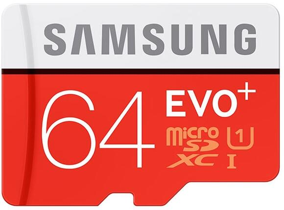 Флаш карта Samsung 64GB micro SD Card EVO+ with Adapter