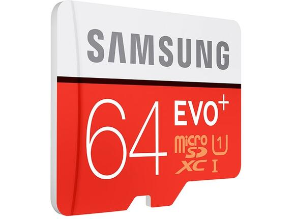 Флаш карта Samsung 64GB micro SD Card EVO+ with Adapter - 2