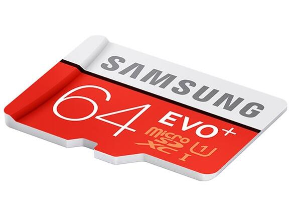 Флаш карта Samsung 64GB micro SD Card EVO+ with Adapter - 3