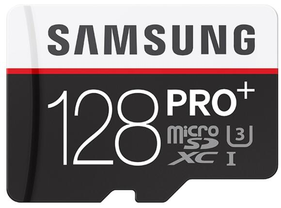 Флаш карта Samsung 128GB micro SD Card PRO+ with Adapter