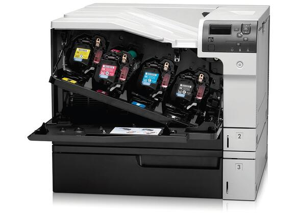 Принтер HP Color LaserJet Enterprise M750dn Printer - 3