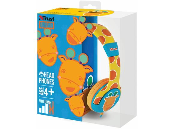 Слушалки TRUST Spila Kids Headphone - giraffe - 5