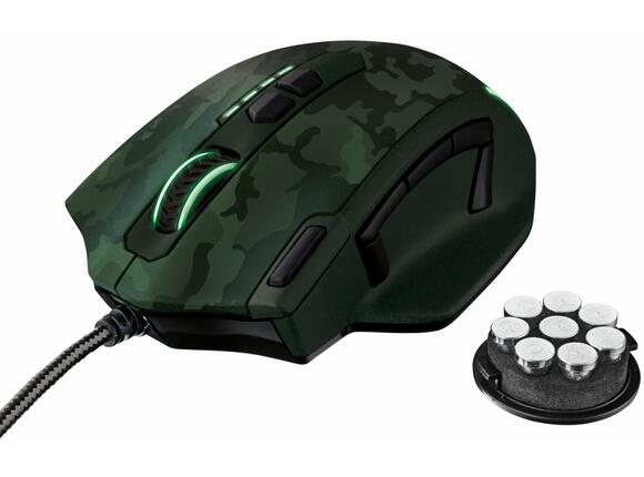 Мишка TRUST GXT 155C Gaming Mouse - green camouflage - 2