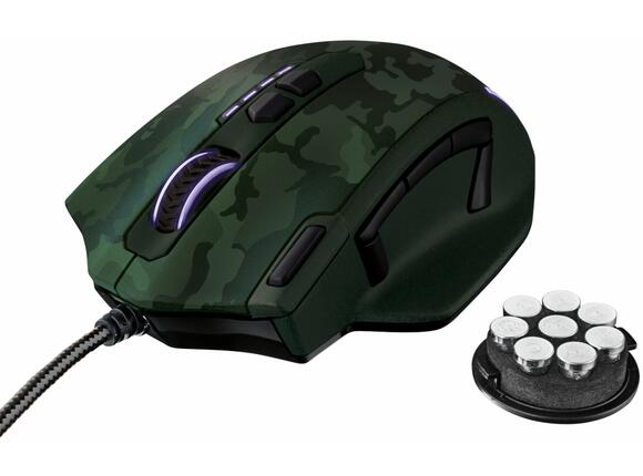 Мишка TRUST GXT 155C Gaming Mouse - green camouflage - 4
