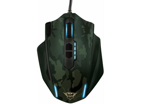 Мишка TRUST GXT 155C Gaming Mouse - green camouflage - 6
