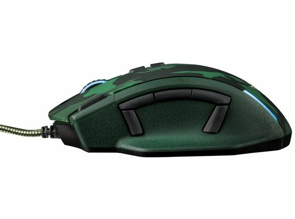 Мишка TRUST GXT 155C Gaming Mouse - green camouflage - 5