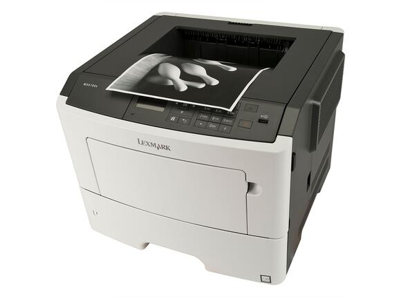 Принтер Lexmark MS610dn A4 Monochrome Laser Printer - 4