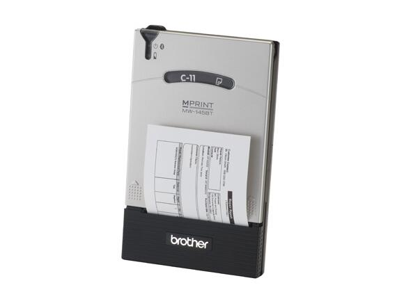 Мобилнен принтер Brother MW-145BT Small Format (A7) Mobile Wireless Printer - 3