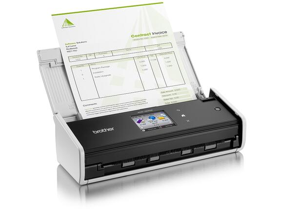 Скенер Brother ADS-1600W Document Scanner - 2