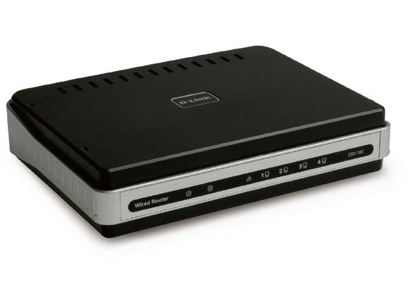 Рутер D-Link DSL/Cable Router with 4 Port 10/100 Switch