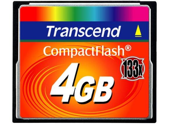 Флаш карта Transcend 4GB CF Card (133X)