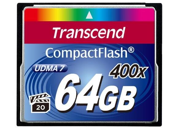 Флаш карта Transcend 64GB CF Card (400X)