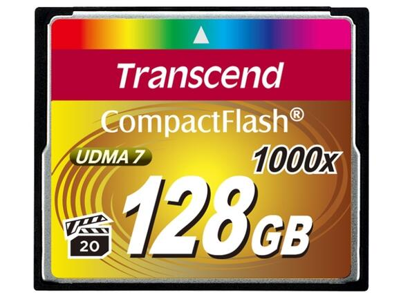 Флаш карта Transcend 128GB CF Card (1000x - 2