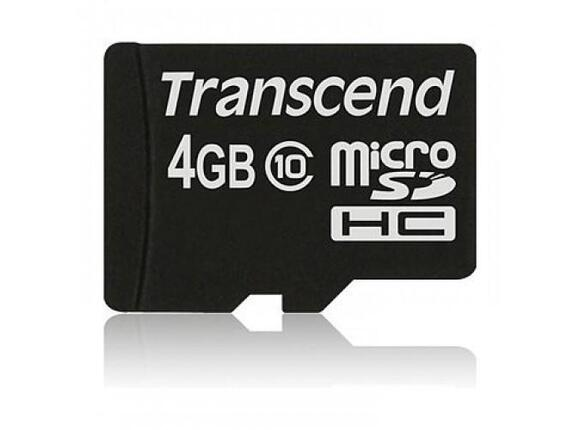 Флаш карта Transcend 4GB micro SDHC (No Box & Adapter - Class 10)