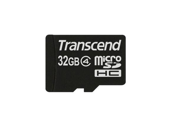 Флаш карта Transcend 32GB microSDHC (No Box & Adapter - Class 4) - 2
