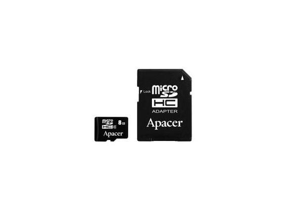 Флаш карта Apacer 8GB Micro-Secure Digital HC Class 4