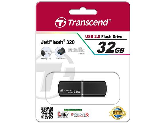 Флаш памет Transcend 32GB JETFLASH 320 - 3